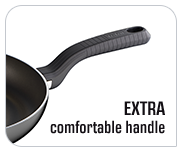 Extra comfortable handle